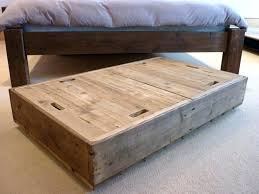 wooden under bed storage bin boxes made from reclaimed wood bins 5 inches frame wooden under bed storage