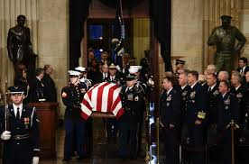 Image result for state funeral for President Bush