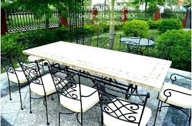 outdoor table and chairs. Mosaic Bistro Table Set Patio Furniture Outdoor And Chairs . I