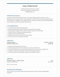 Graphic Design Resume Template For Microsoft Word Livecareer