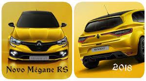 renault megane rs 2018. contemporary megane novo renault mgane rs 2018 in renault megane rs