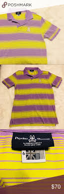 Psycho Bunny Size Chart Psycho Bunny Striped Polo Shirt Great Conditions 6 Is A L Is
