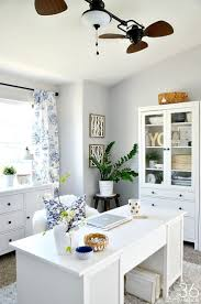chic home office decor: home office decor this room went from dining room to office so pretty