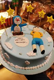 Order Doremon Theme Kids Cake Online With Home Delivery