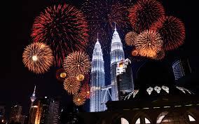 Kuala Lumpur Malaysia New Year's Eve