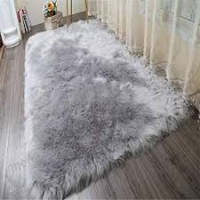 monthly 80 150 cm faux fur rug soft fluffy rug gy rugs faux sheepskin rugs