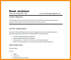 Career Objective On Resume Sample Career Objective In Resume Sample Job Objective Career 43