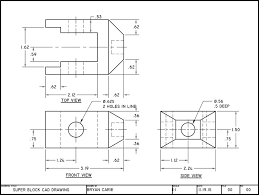 Vending Machine Cad Block Plan Interesting Super Block CAD Drawing