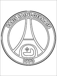 Paris Saint Germain Logo Kleurplaat Gratis Kleurplaten