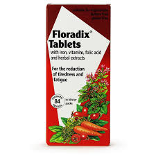 <b>Floradix Iron Tablets</b> - 84 | Iron & Vitamin <b>Supplement</b> | Chemist 4 U