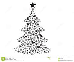 Vector Snowflakes In Christmas Tree Shape Stock Image  Image 5240321Snowflakes For Christmas Tree
