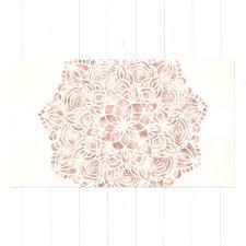 rose gold rug rose pink rug mandala seashell gold c bath rugs rose pink rug rose gold rug uk