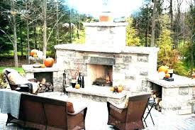 outdoor fireplace designs contemporary ideas design regarding