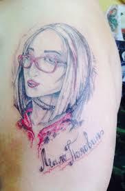 красноярец сделал татуировку с бузовой чтобы избавиться от лишнего