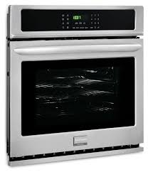 frigidaire gallery 4 6 cu ft single wall oven stainless steel the brick