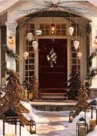 Backyards : Front Door Christmas Decorating Ideas Decorations For ...