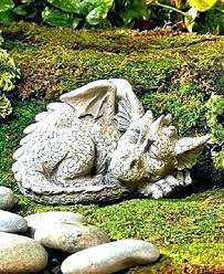 dragon garden statues yard statue decor dragons mythical gar griffins perth image 0 for concret