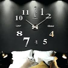 office wall clocks. Large Office Wall Clocks New Home Decoration Big Mirror Clock Modern Design Decorative