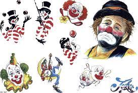 Motiv Tetování Joker Klauni 660