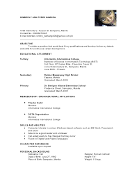Collection of Solutions Sample Resume Character Reference In Summary
