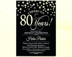 75th Birthday Invitation Ideas Birthday Invitations Invitation Any