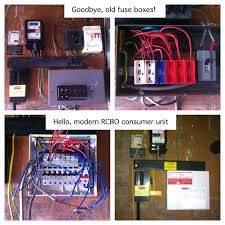 17 best images about changing a fusebox out 1 back goodbye old wylex fusebox