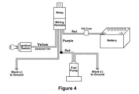 Wiring Diagram For Electric Fuel Pump Wiring a Fuel Pump Relay