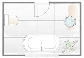 bathroom layout plan 4
