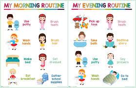 Toddler Schedule Chart Kids Daily Routine Chart Free Printable Viva Veltoro