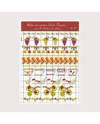 Cross Product Chart Cross Stitch Chart Autumn