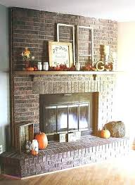 fireplace wall decor decorating ideas for brick awesome best mantel full size