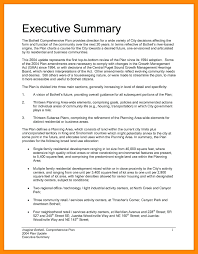 Amazing Executive Summary Outline Template Model - Resume Ideas ...