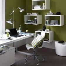 interior decoration office. Office Designs: Awesome Minimalist Interior Design Ideas Modern Green Wall White Furniture, Home Decor, Room Decoration P