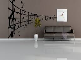 Small Picture Musical Abstract print wall sticker shop Doha Qatar