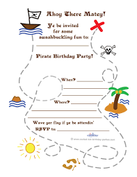 Free Templates For Invitations Printable Printable Treasure Map Invitation