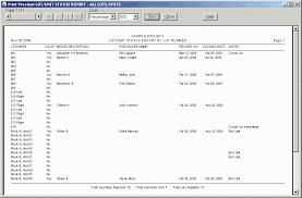 H O M E S Construction Site System Sample Report Lot Unit Status