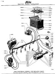8n front mount wiring info original 6 volt 39 49 mpc lighting diagram