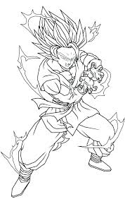 Coloring Pages Printable Coloring Pages For Kids Dragon Ball Z Gt