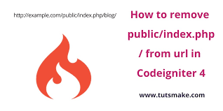 remove public and index php from url