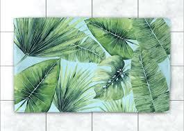 palm tree bath rug palm tree rugs tropical palm tree leaves accent rug palm tree bath