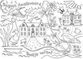 25 Bladeren In Het Engels Kleurplaat Mandala Kleurplaat Voor Kinderen