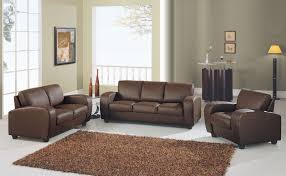 best paint color for living room with dark brown furniture