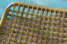 outdoor furniture materials synthetic resin