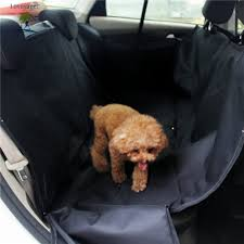 lovoyager wpf001 pet accessories oxford pet car seat cover protector large for rear back dog hammock
