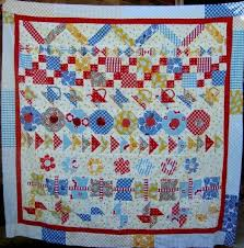 102 best Quilts: Round Robin & Row Robin Ideas images on Pinterest ... & Round Robin #3 Row Quilt Finishing Up - Adamdwight.com