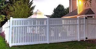 vinyl semi privacy fence. Plain Vinyl SemiPrivacy Fencing And Vinyl Semi Privacy Fence P