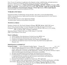 labview - Oracle Developer Sample Resume