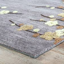 blue grey rug gray and yellow area rug cherry blossom hand tufted gray yellow area rug