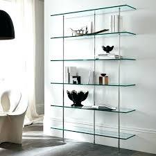 modern glass shelves modern glass bookcase bookcase glass living room furniture ultra modern modern glass shelf