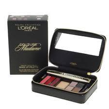 l oreal makeup palette volume million lashes mascara gift set damaged box